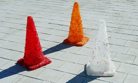 Cones on Roof