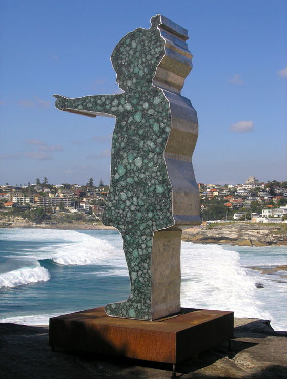 Pointing Girl-Sculpture by the Sea Bondi 2013